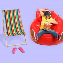 פופים, כיסאות ואביזרי חוף